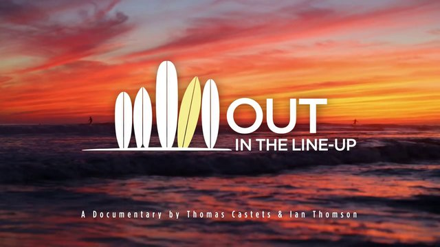 OUT IN THE LINE-UP / A documentary about surfing & homosexuality / Teaser