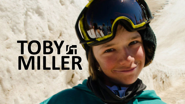 13 Year Old Snowboarder Toby Miller